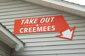 Weblog Food Creemee Sign-1