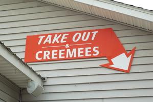 Weblog Food Creemee Sign-1